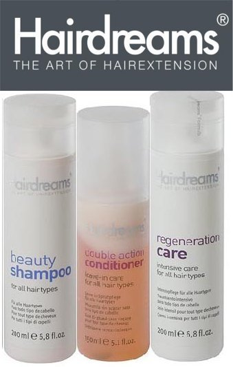 HAIRDREAMS Pflegeset 1x Beauty Shampoo 1x Regeneration 1x Duble Conditioner