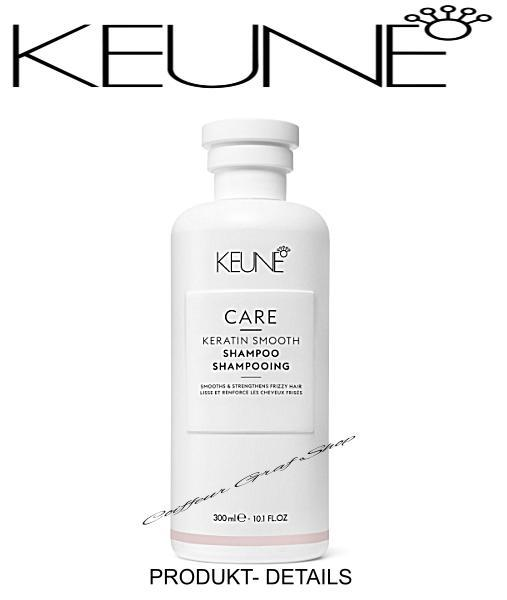 Keune Care - Keratin Smooth Shampoo 300ml